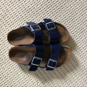 Authentic Navy Blue Birkenstocks